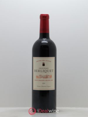 Château Berliquet Grand Cru Classé  2010 - Lot de 1 Bottle