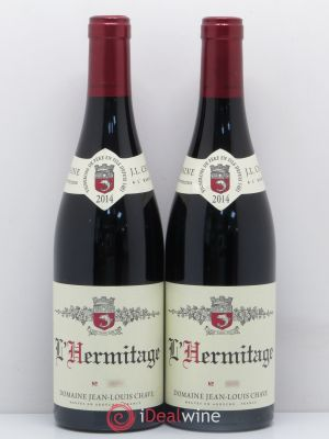 Hermitage Jean-Louis Chave  2014 - Lot de 2 Bottles