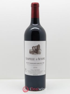 Chapelle d'Ausone Second vin  2016 - Lot de 1 Bouteille