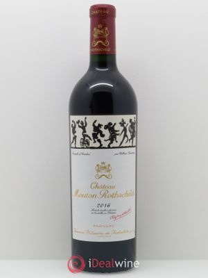 Château Mouton Rothschild 1er Grand Cru Classé  2016 - Lot de 1 Bottle