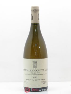 Meursault 1er Cru Goutte d'Or Comtes Lafon (Domaine des)  2003 - Lot de 1 Bottle