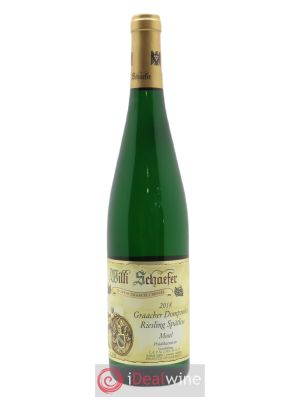 Riesling Willi Schaefer Graacher Domprobst Spatlese 10  2018 - Lot de 1 Bottle