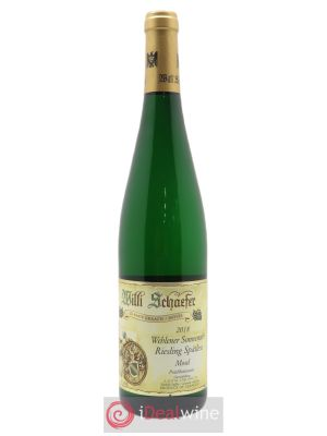 Riesling Willi Schaefer Wehlener Sonnenuhr Spatlese  2018 - Lot de 1 Bottle