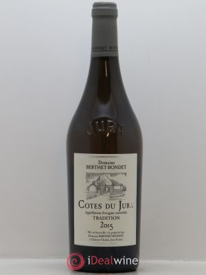 Côtes du Jura Tradition Berthet-Bondet  2015 - Lot de 1 Bottle