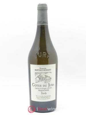 Côtes du Jura Tradition Berthet-Bondet  2016 - Lot de 1 Bottle