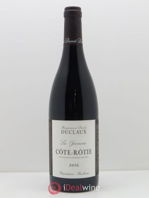Côte-Rôtie La Germine Duclaux  2016 - Lot de 1 Bottle