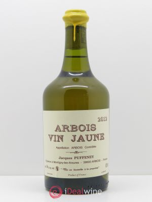 Arbois Vin Jaune Jacques Puffeney (62cl) 2012 - Lot de 1 Bouteille