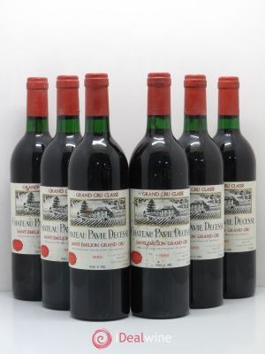 Château Pavie Decesse Grand Cru Classé  1986 - Lot de 6 Bottles