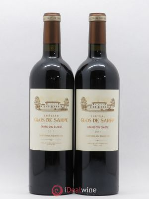 Clos de Sarpe Grand Cru Classé  2017 - Lot de 2 Bottles