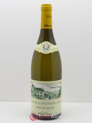 Chablis 1er Cru Mont de Milieu Billaud-Simon (Domaine)  2017 - Lot de 1 Bottle
