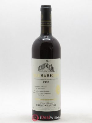 Barbaresco DOCG Bruno Giacosa 1993 - Lot de 1 Bottle