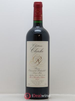 Château Clarke  2005 - Lot de 1 Bottle