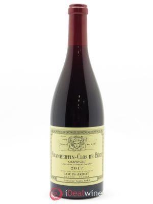 Chambertin Clos de Bèze Grand Cru Louis Jadot  2017 - Lot de 1 Bottle