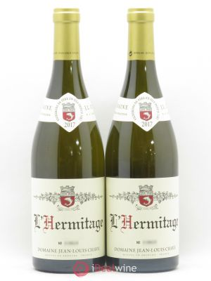 Hermitage Jean-Louis Chave  2017 - Lot de 2 Bottles