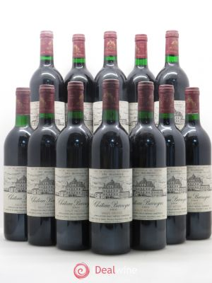Bouteille Château Barreyres Cru Bourgeois  1989
