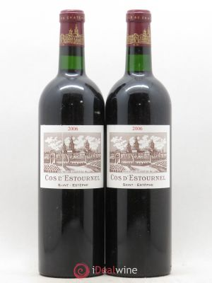 Cos d'Estournel 2ème Grand Cru Classé  2006 - Lot de 2 Bottles