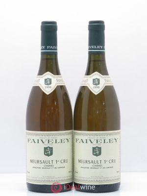 Meursault 1er Cru Charmes Faiveley 1998 - Lot de 2 Bottles