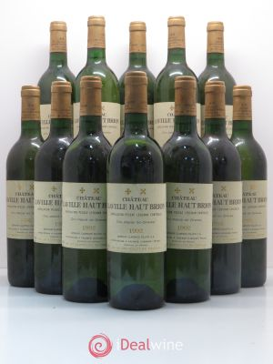 Bottle Château Laville Haut-Brion Cru Classé de Graves  1992 - Lot de 12 Bottles