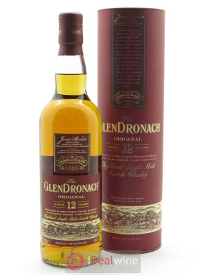 Glendronach 12 years Of. Single Malt Scotch Whisky (70 cl) ---- - Lot de 1 Bouteille
