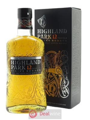 Highland Park 12 years Of. Single Malt Whisky (70 cl) ---- - Lot de 1 Bouteille