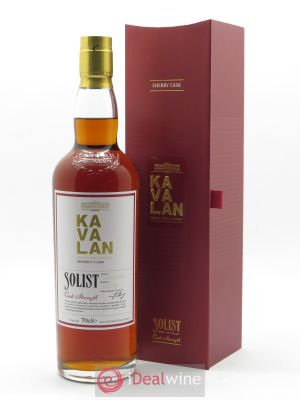 Kavalan Of. Solist Sherry Cask Cask Strength (70 cl) ---- - Lot de 1 Bouteille