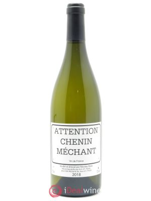 Vin de France  Clos des Treilles Chenin Mechant Nicolas Réau  2018 - Lot de 1 Bottle