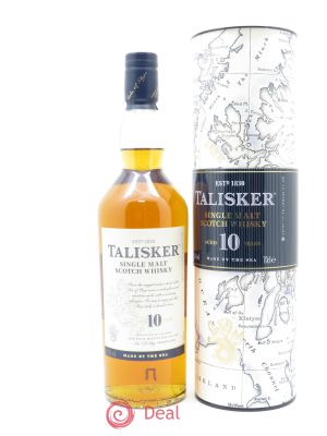 Whisky Talisker Single Malt Scotch Aged 10 Years Talisker