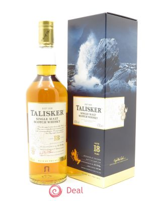 Whisky Talisker Single Malt Aged 18 Years (70cl) ---- - Lot de 1 Bottle