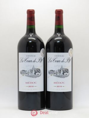 Château La Tour de By Cru Bourgeois  2016 - Lot de 2 Magnums