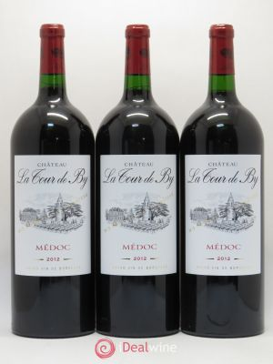 Château La Tour de By Cru Bourgeois  2012 - Lot de 3 Magnums