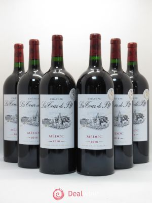 Château La Tour de By Cru Bourgeois  2016 - Lot de 6 Magnums
