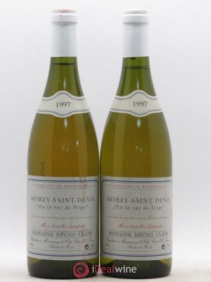 Morey Saint-Denis En la Rue de Vergy Bruno Clair (Domaine)  1997 - Lot de 2 Bottles