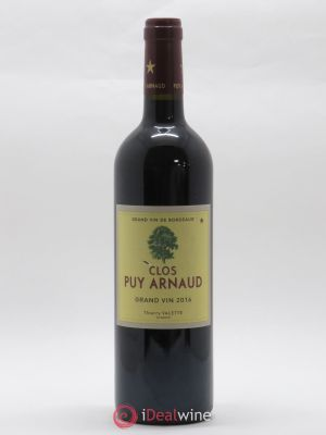 Clos Puy Arnaud  2016 - Lot de 1 Bottle