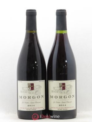 Morgon La Voûte Saint Vincent Louis-Claude Desvignes (Domaine)  (no reserve) 2014 - Lot de 2 Bottles