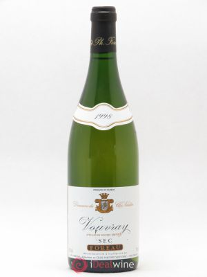 Vouvray Sec Clos Naudin - Philippe Foreau  1998