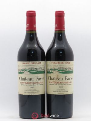 Château Pavie 1er Grand Cru Classé A  2000 - Lot de 2 Bottles