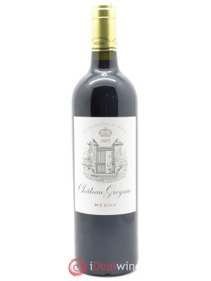 Château Greysac Cru Bourgeois  2015 - Lot de 1 Bottle