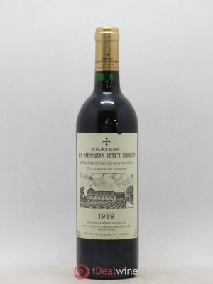 Château La Mission Haut-Brion Cru Classé de Graves  1989 - Lot de 1 Bottle