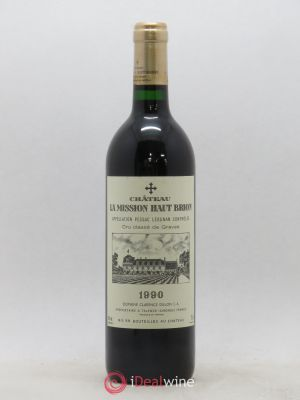 Château La Mission Haut-Brion Cru Classé de Graves  1990 - Lot de 1 Bottle