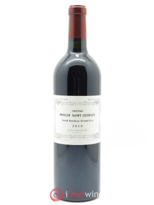 Château Moulin Saint Georges  2010 - Lot de 1 Bottle