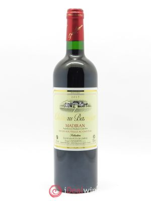 Madiran Château Barrejat  2017 - Lot de 1 Bottle