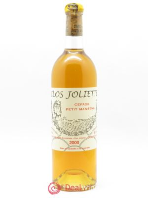 Jurançon Demi-Sec Clos Joliette  2000 - Lot de 1 Bottle