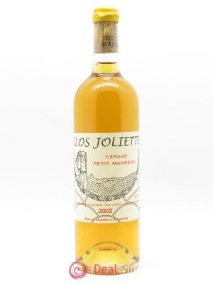 Jurançon Demi-Sec Clos Joliette  2002 - Lot de 1 Bottle