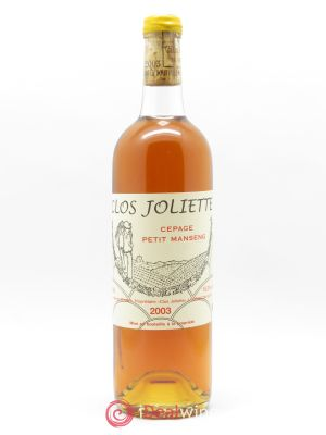 Jurançon Demi-Sec Clos Joliette  2003 - Lot de 1 Bottle