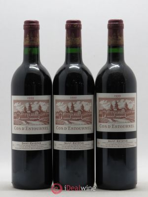 Cos d'Estournel 2ème Grand Cru Classé  1999 - Lot de 3 Bottles