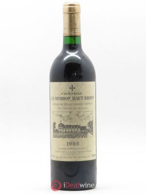 Château La Mission Haut-Brion Cru Classé de Graves  1986 - Lot de 1 Bottle