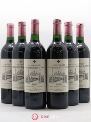 La Chapelle de La Mission Haut-Brion Second Vin  2008 - Lot de 6 Bouteilles