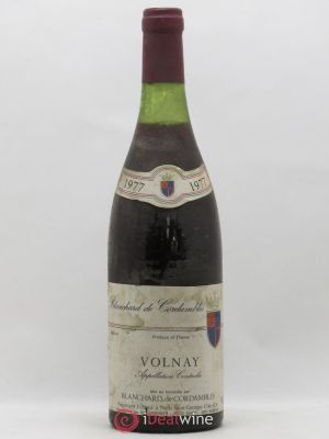 Volnay Blanchard de Cordambles 1977 - Lot de 1 Bottle