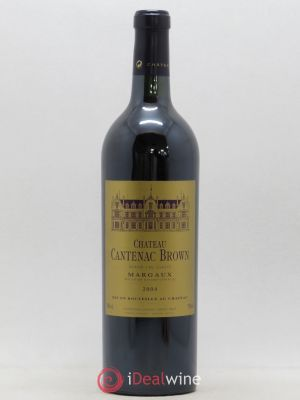 Château Cantenac Brown 3ème Grand Cru Classé  2004 - Lot de 1 Bottle