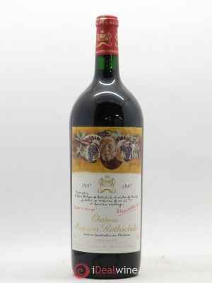 Château Mouton Rothschild 1er Grand Cru Classé  1987 - Lot de 1 Magnum
